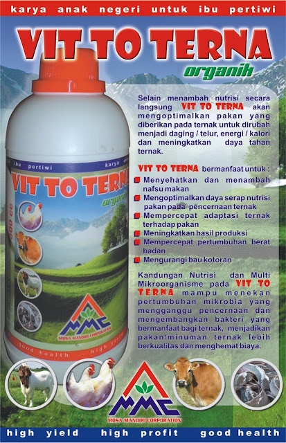 Brosur Mosa Vitto - Probiotik Ternak Organik