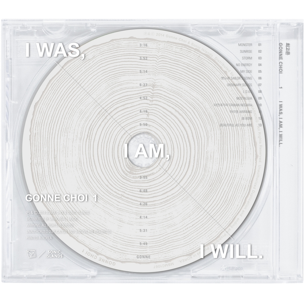 Gonne Choi – Vol.1 I Was, I Am, I Will