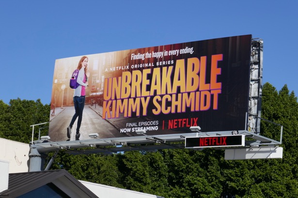 Unbreakable Kimmy Schmidt season 4 final episodes billboard