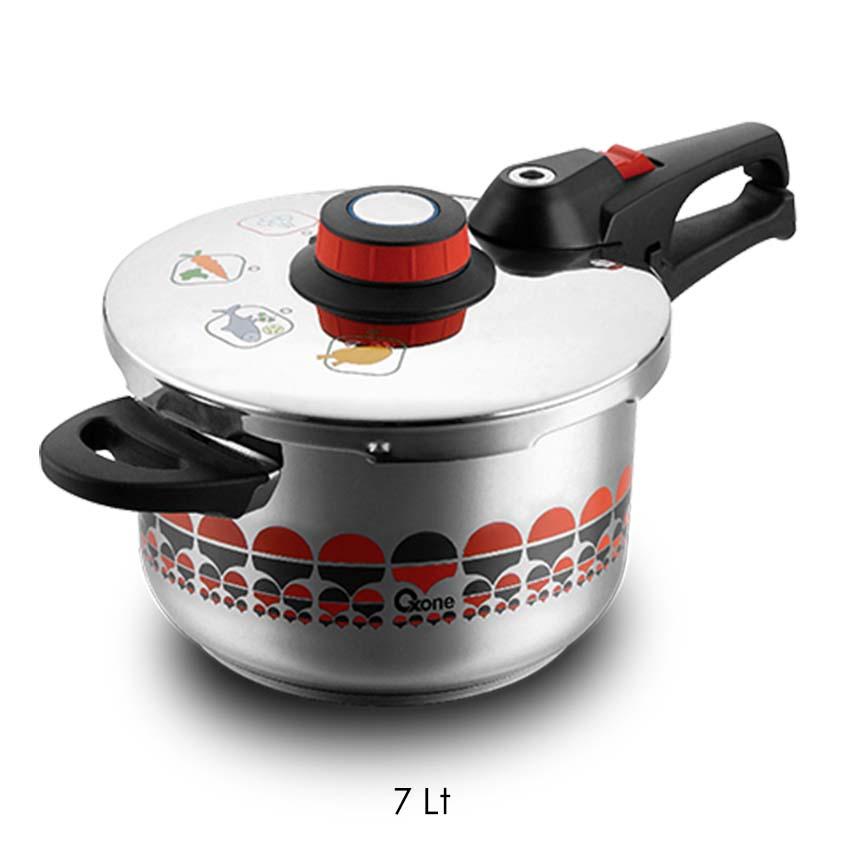 OX-1070 Presto Oxone Motif Pressure Cooker