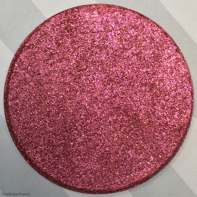 clionadh cosmetics ruby eyeshadow swatch birthstone saga