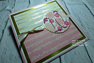 Bundle of Love and Beautiful Bouquet Eclipse Card Stampin Up