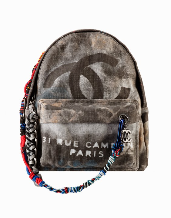 b9e098d19ee7 Boy Chanel Bags & Handbags: CHANEL Graffiti Printed Canvas Backpack With  Multicolored Ropes
