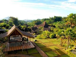 Menikmati Suasana Pedesaan di Kampung Lumbung Ecofriendly Boutique Hotel