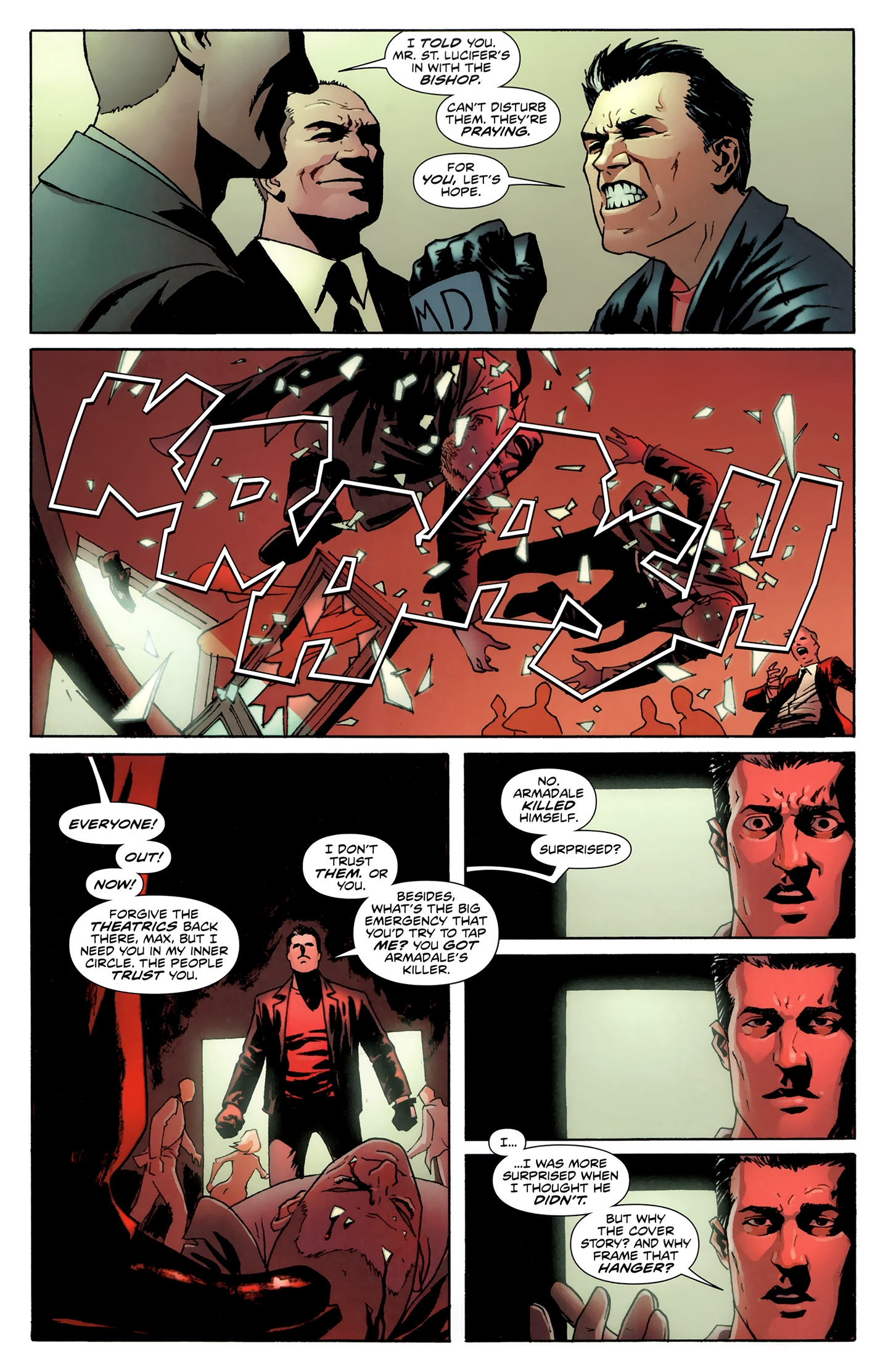 Read online Incorruptible comic -  Issue #28 - 9