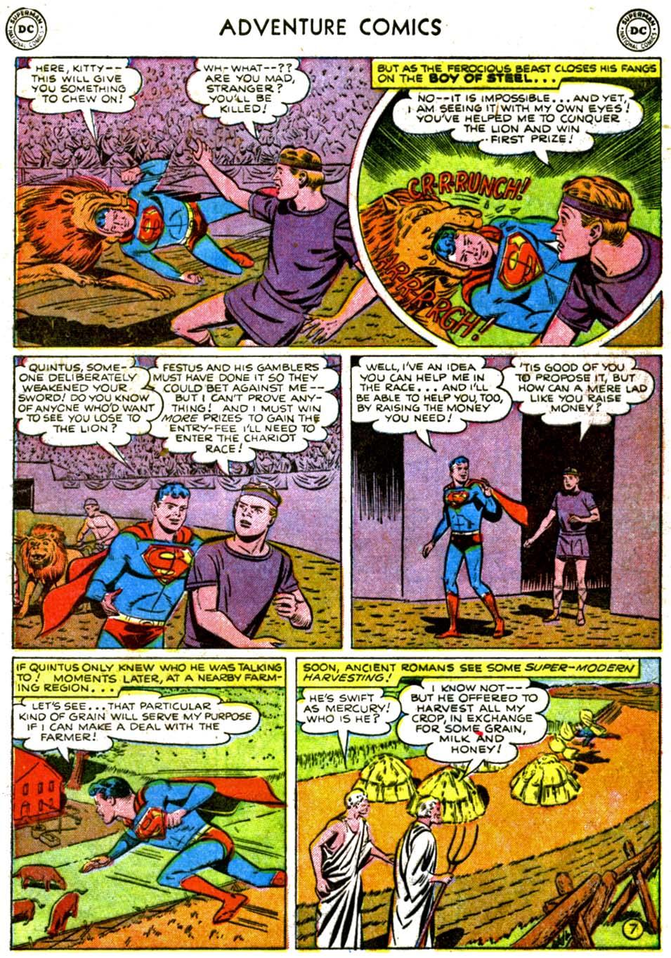 Read online Adventure Comics (1938) comic -  Issue #177 - 9