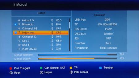 Cara menggunakan Diseqc Switch 4x1 di S band
