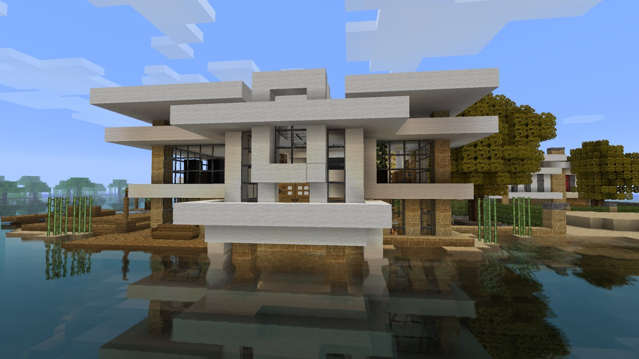 A Modern House on Beach 2