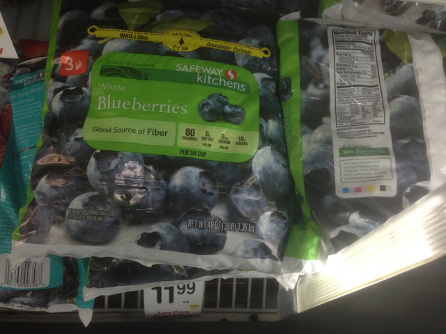 Blueberries, Safeway Kitchens, 3 lb - Safeway