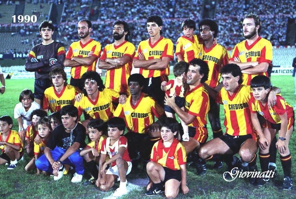 Resultado de imagen para progreso copa libertadores 1990