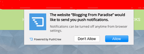 push-notification-for-blog
