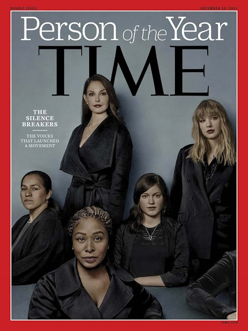 Time Person of the Year 2017 - #MeToo, The Silence Breakers TIME has named the Silence Breakers, the...
