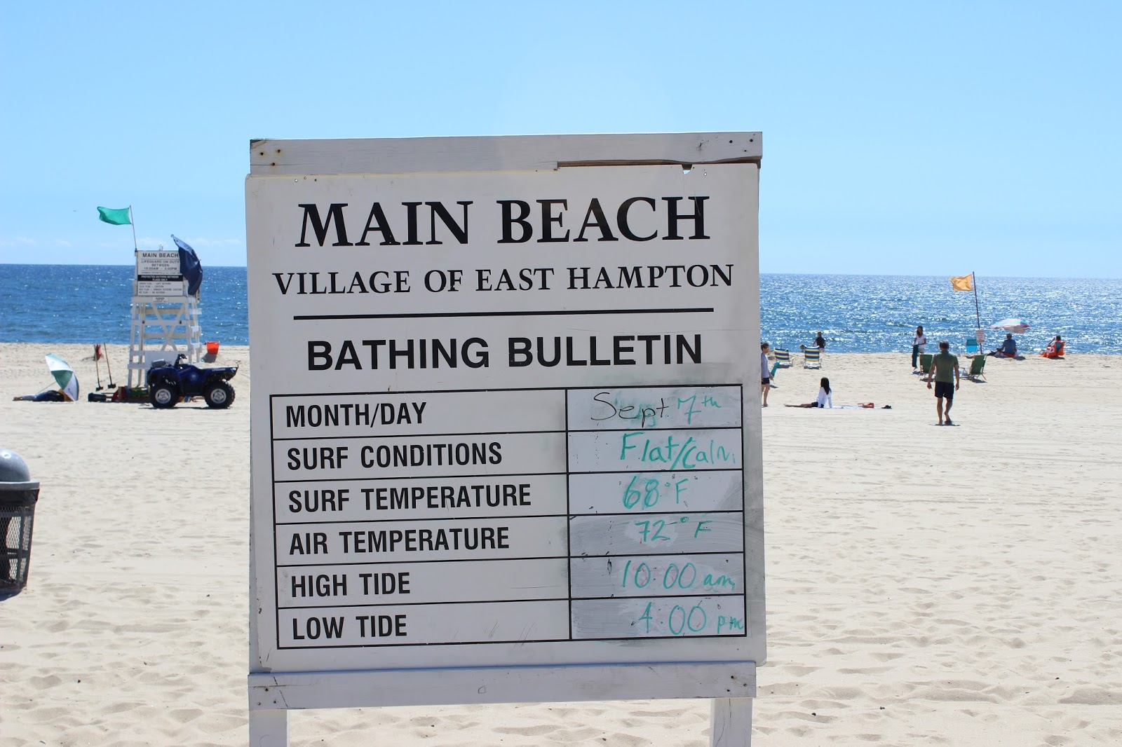 The Main Beach In East Hampton Is An Award Winner I Confess Had Never Visited It Until This Past Weekend