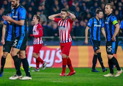 At Madrid vs Brugge