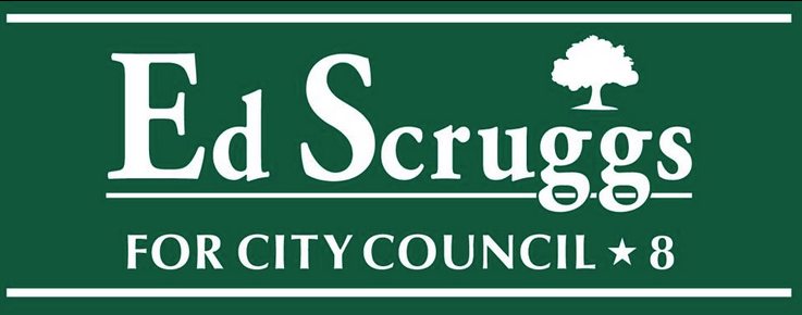 Ed Scruggs District 8 Yard Sign