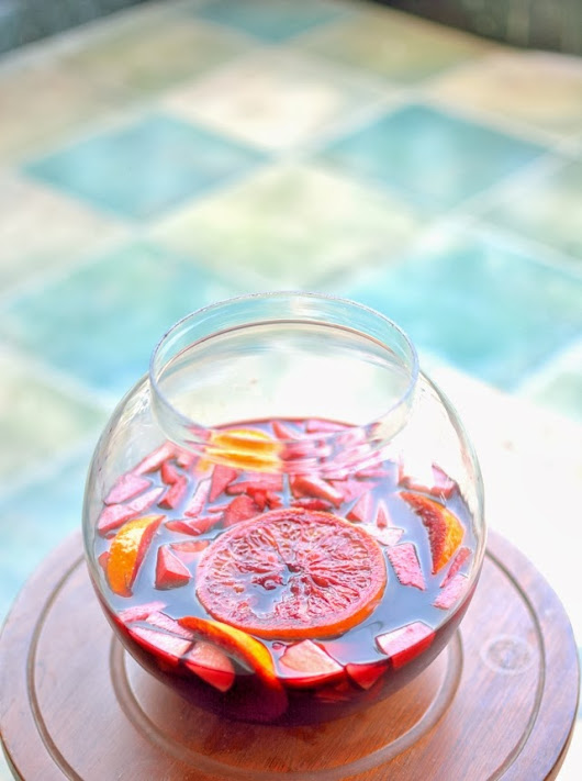 WhenIAte: Red Wine Sangria