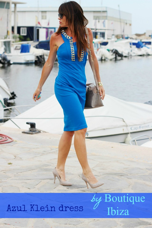 Versace Collection - Boutique Ibiza Guardamar - Azul Klein - fashion Blogger