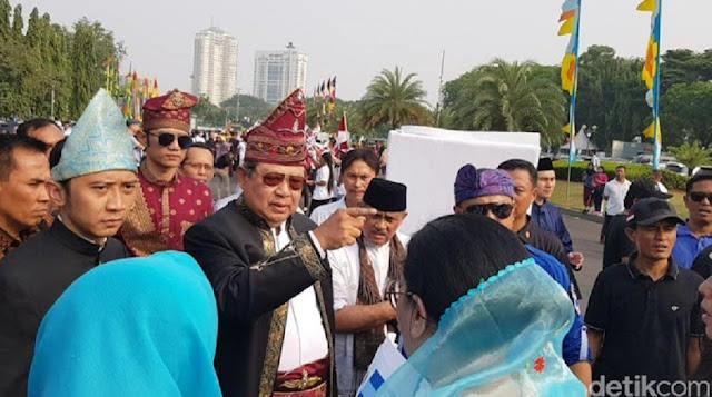 Demokrat: Projo Teriak 'Bang Dukung Jokowi' ke SBY