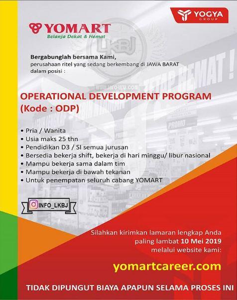 Lowongan Kerja Yomart 2019 Lowongan Kerja Terbaru Indonesia 2020