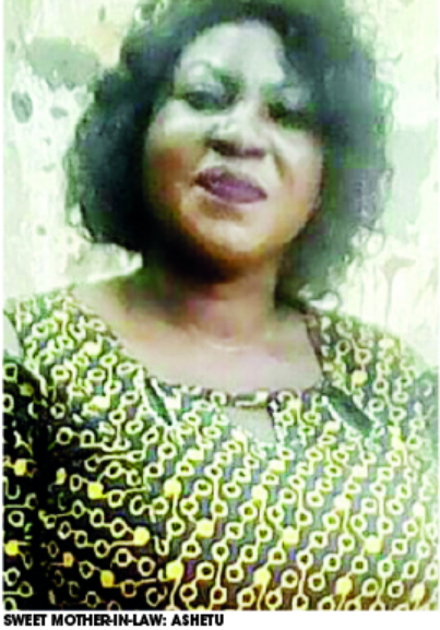 nigerian woman pregnant son in law