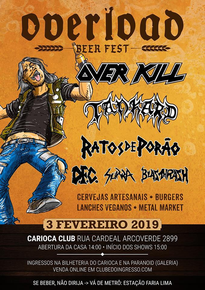 """Overload Beer Fest"" - Parte 01: Blasthrash, Surra e DFC"