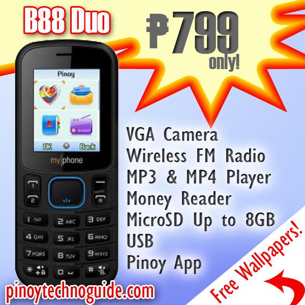 myphone b88 tv duo