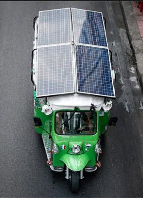 Transportasi Umum Tidak Efisien Pakai Panel Surya