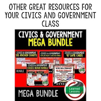 Civics and Government I Cans, Self-Assessment of Mastery, Student Ownership of Learning, US Facts and Symbols, Background of Government, New Nation, Constitution, Legislative Branch, Executive Branch, Judicial Branch, Constitutional Rights and Freedoms, Citizenship, American Law, Politics, Voting, Elections, Interest Groups, Public Opinion, International Relations, Foreign Policy