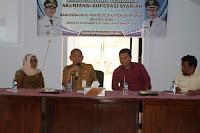 <b>Dinas Koperindag Kota Bima Gelar Bimtek Akuntansi Koperasi Syariah</b>