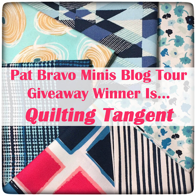 Pat Bravo Minis Blog Tour Giveaway Winner by Thistle Thicket Studio. www.thistlethicketstudio.com