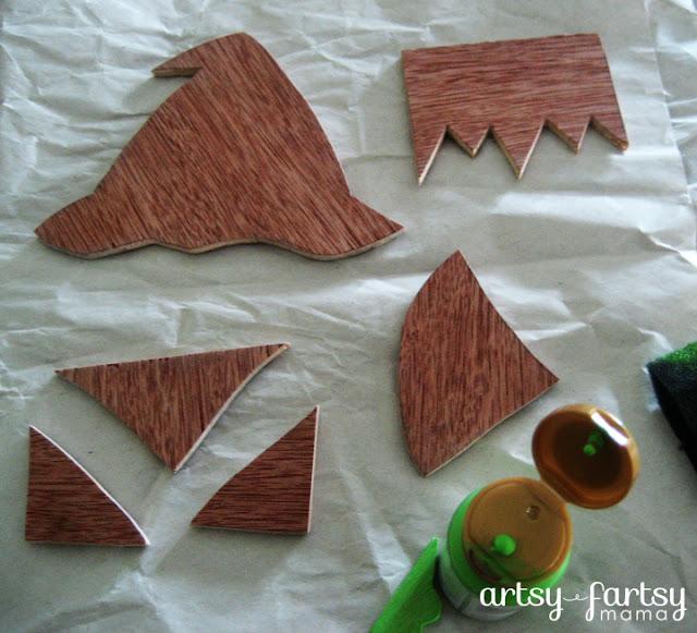 Halloween Character Blocks at artsyfartsymama.com