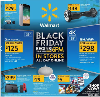 Walmart US - Black Friday Sale Valid Thu November 23 – 24, 2017
