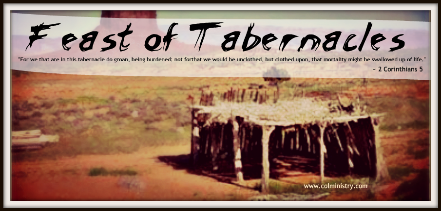 Children of Light Ministry: Sukkot - This Temporary Tabernacle