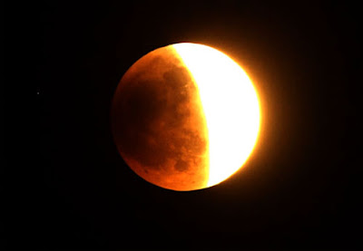 munculnya fenomena gerhana bulan