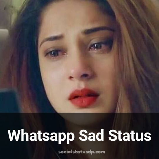 Heartbroken Whatsapp Sad Status, Quotes, Message, DP Images - SocialStatusDP.com