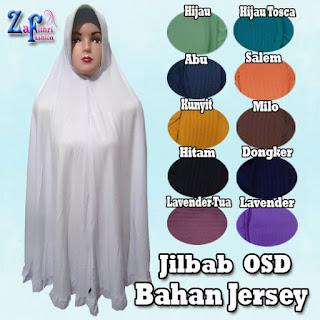Jilbab Syar'i Jumbo Model Terbaru OSD