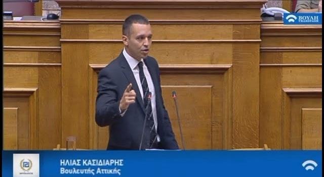 Κασιδιάρης: Δεύτερο κόμμα η Χρυσή Αυγή στην Μακεδονία! (vid)