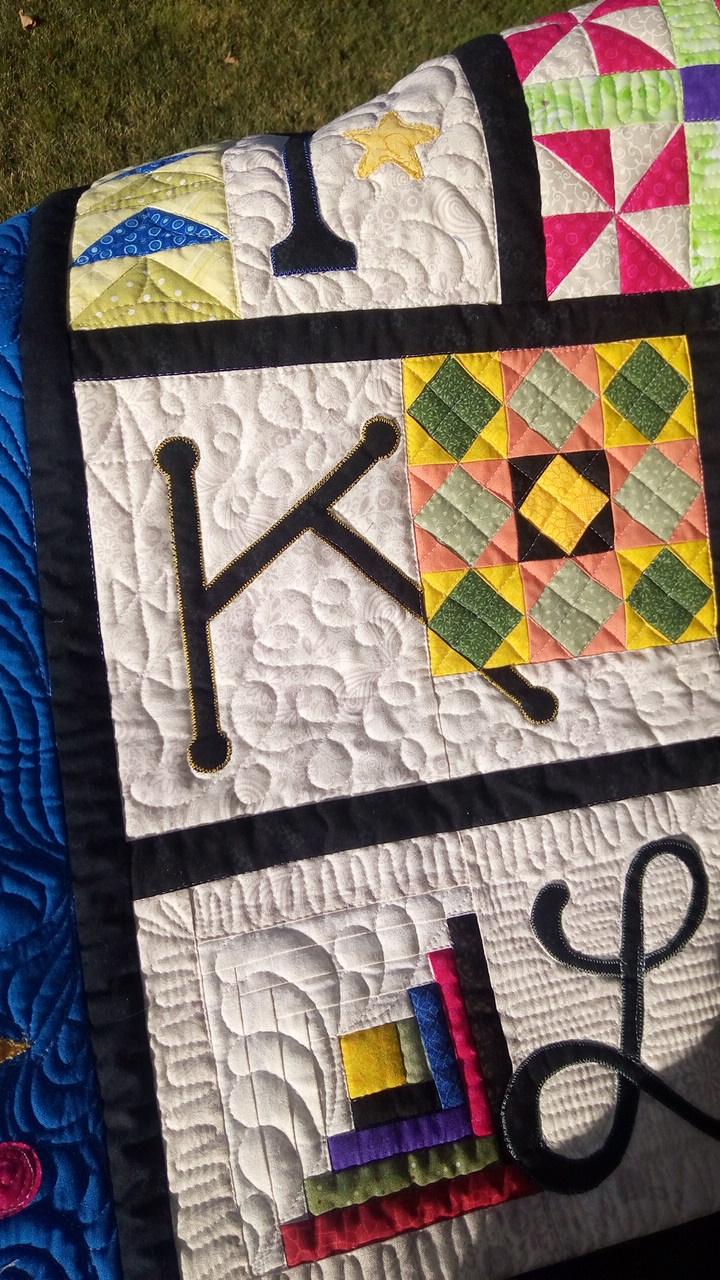 Quilt Knit Stitch 2017 : Quilt, Knit, Run, Sew: Presenting my ABC Quilt