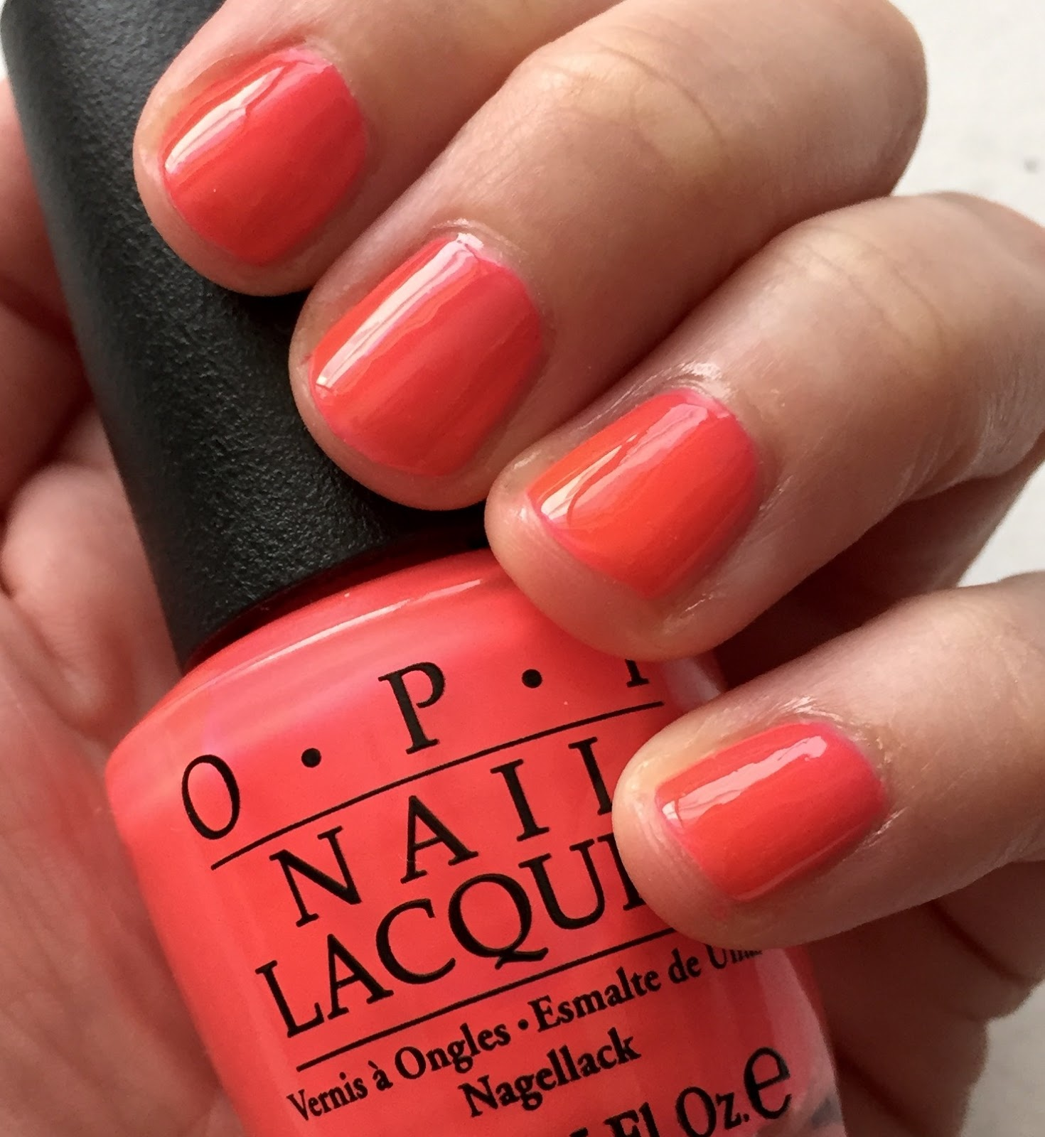 The Beauty Of Life: #ManiMonday: OPI No Doubt About It