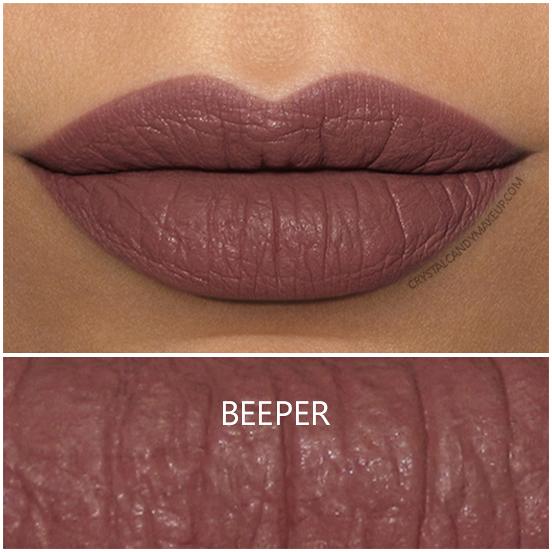 Colourpop Ultra Matte Liquid Lipstick Beeper Swatch