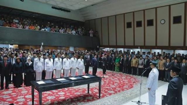 Pesan Anies Baswedan usai Lantik Wali Kota dan Pejabat DKI Jakarta: Jaga Prestasi yang Sudah Diraih