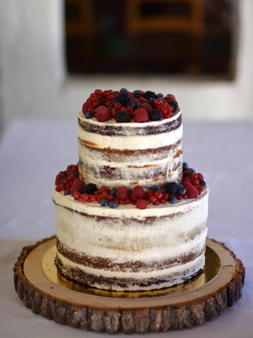 Torta Ana és Csaba esküvőjére