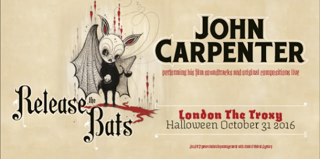 John Carpenter Release The Bats Halloween Troxy