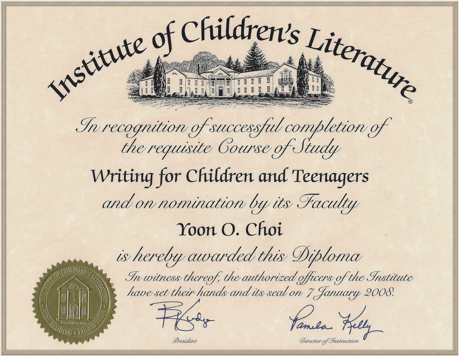 institute of childrens literature