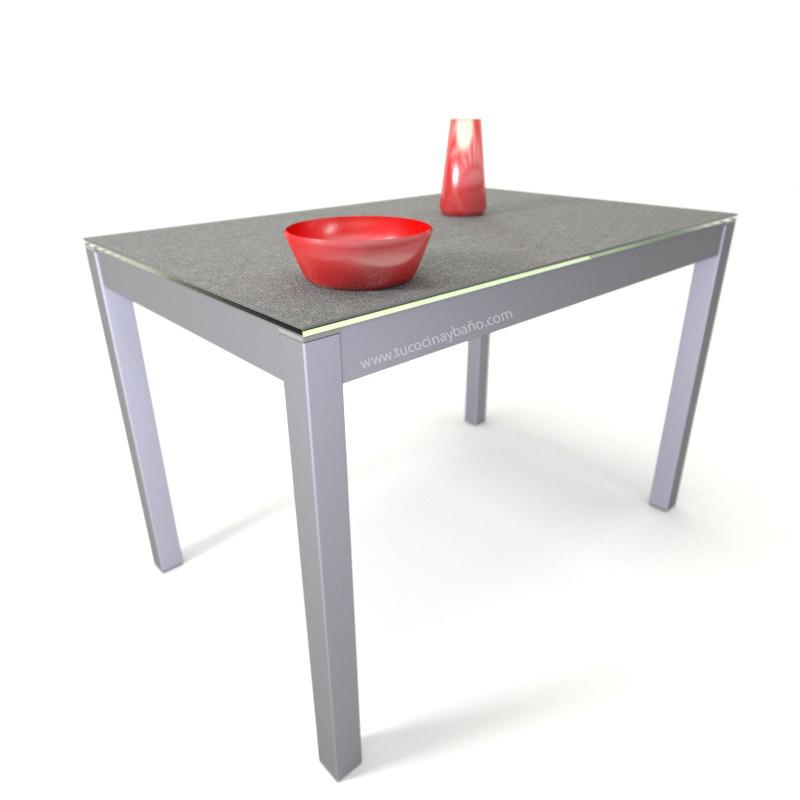 precio mesa cocina porcelanico extensible