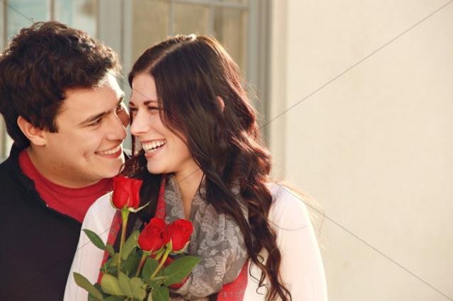 Most romantic Valentine day couple image wallpaper