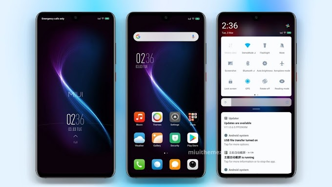 Unique Storm v11 MIUI Theme | Clean and Decent Look for Xiaomi Devices