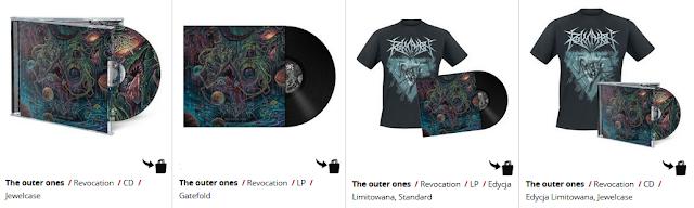 Revocation - The Outer Ones - koszulki i płyty