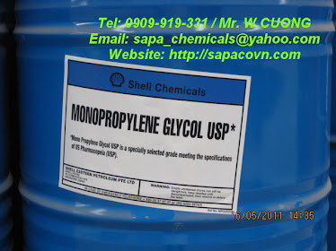 monopropyleneglycol - USP (MPG) Shell