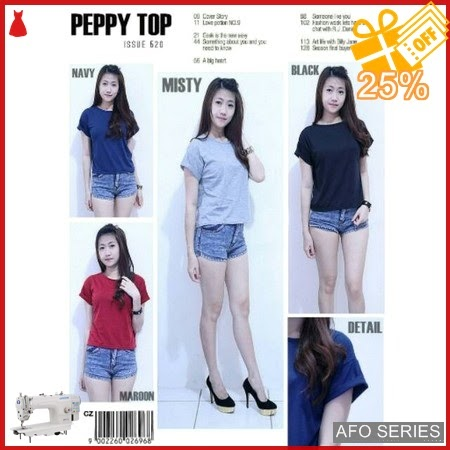 AFO420 Model Fashion Peppy Top Modis Murah BMGShop